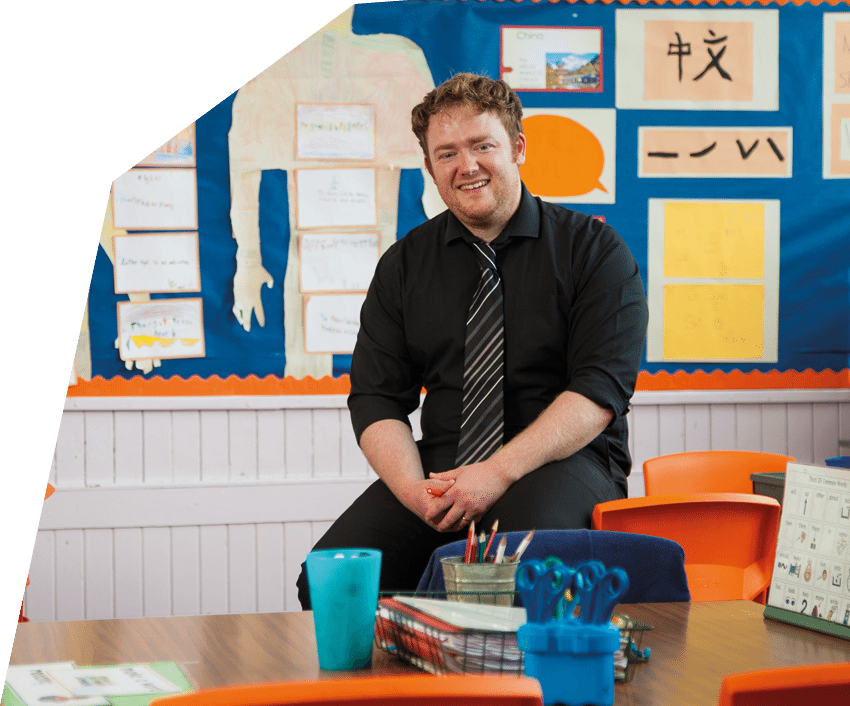 mark pitblado primary school teacher at aberhill primary school